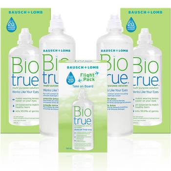 Zestaw płynów BioTrue 2x 300 ml + 120 ml