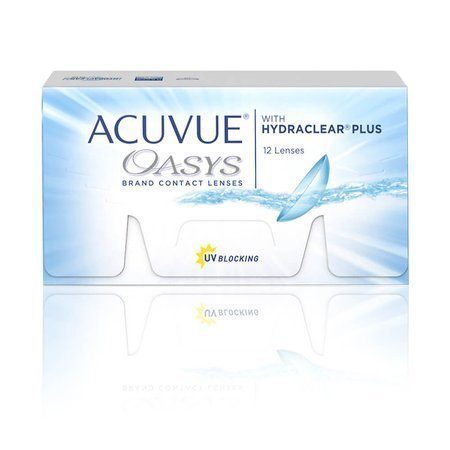 ACUVUE® Oasys with Hydraclear Plus 12 szt.