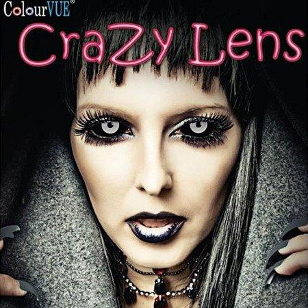 ColourVue Crazy Lens Screla 2 szt. Zerówki