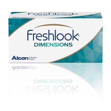 FreshLook Dimensions 2 szt. PLANO (zerówki)