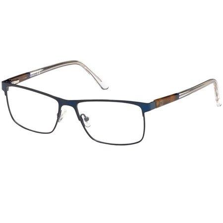 Guess męskie metalowe okulary korekcyjne kolor granatowy GU 1972 091