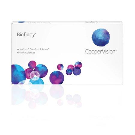 Miesięczne soczewki Biofinity 6 szt.