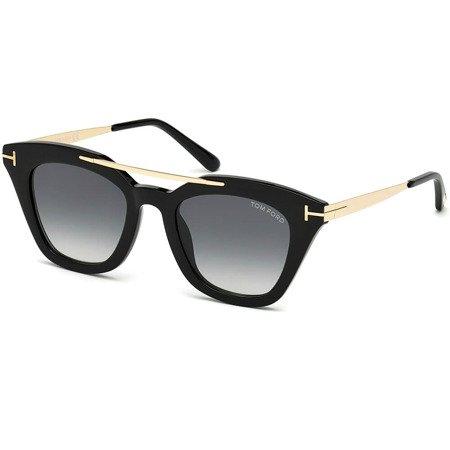 Okulary przeciwsłoneczne Tom Ford FT0575 01B Anna 02