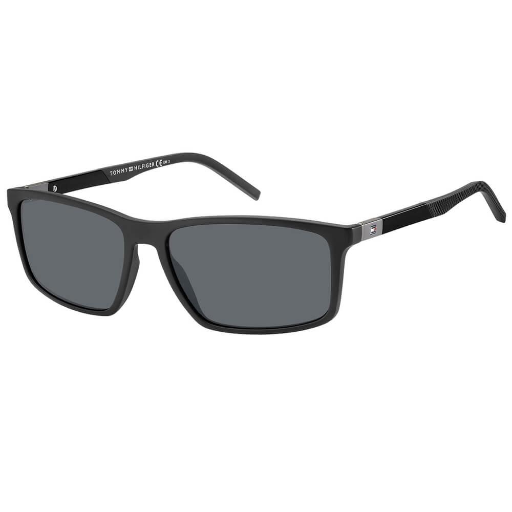 Tommy Hilfiger czarne męskie okulary przeciwsłoneczne TH 1650/S 807/IR