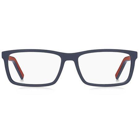 Tommy Hilfiger granatowe męskie okulary z lekkiego tworzywa TH 1591 FLL